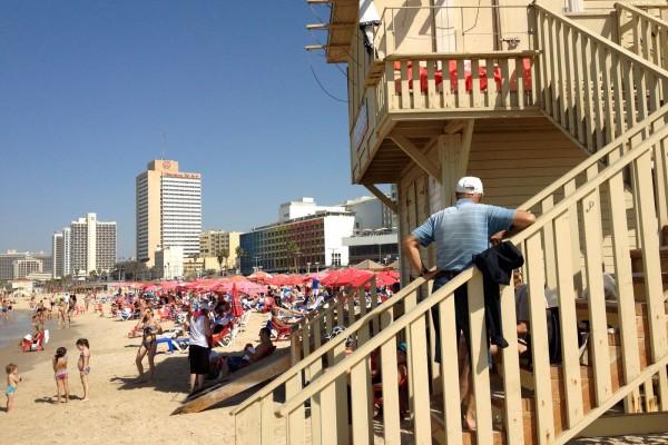 Tel Aviv Beach Guard