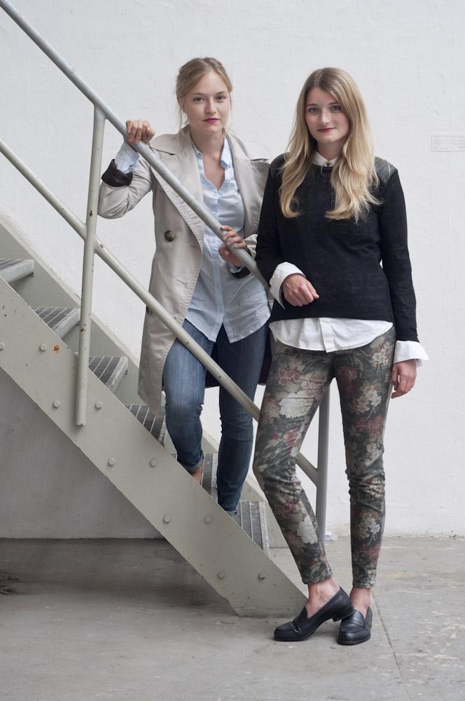 Kuratoren Lydia Korndörfer und Lisa Polten_Photo_Jan Steinhauer