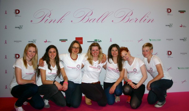 Beim Pink Ball BErlin BA