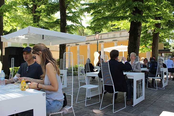 Lunch at the Biennale