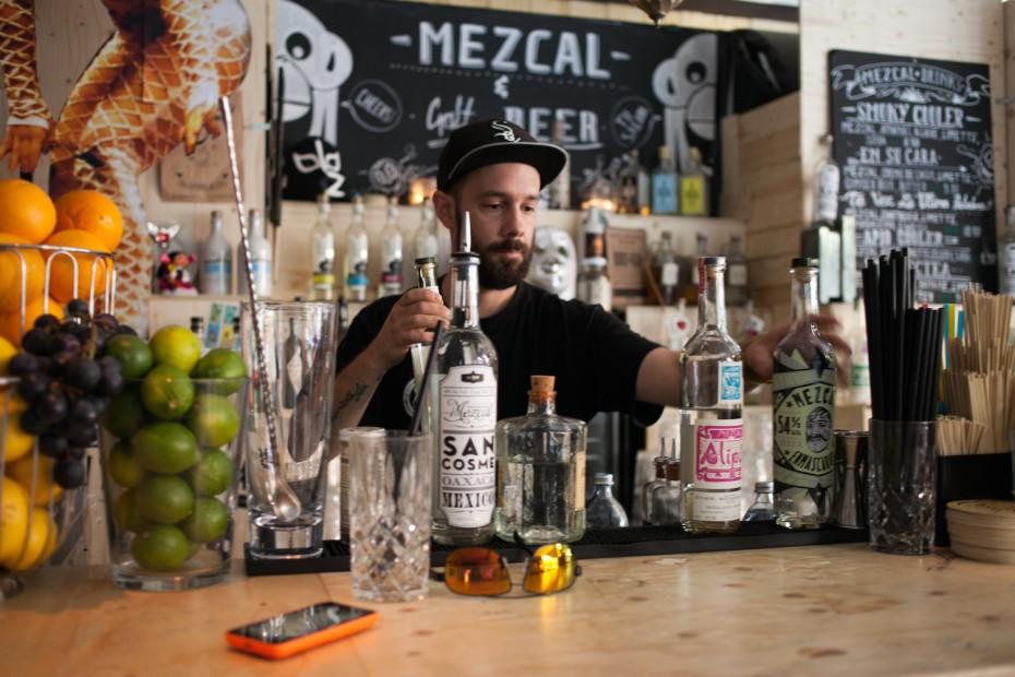 Bartender Roger Breitenegger schätzt den Craftsspirit für seine Vielfalt. (Photo: Florencia Moran)