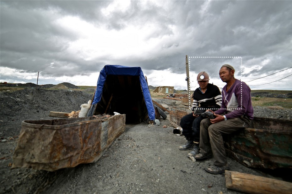 coal mines of Nalaikh, Mongolia