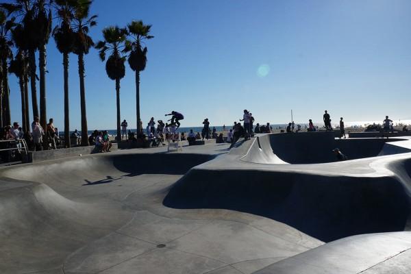 Venice Beach Skater park, Foto: Anke Wiedenroth