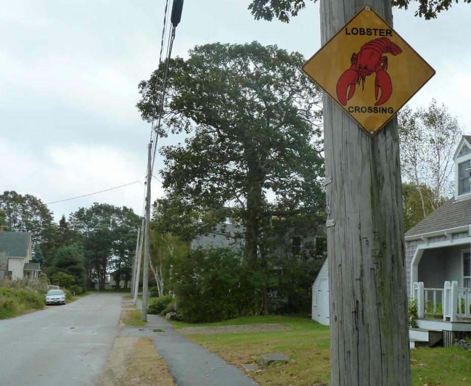 Straßenszene in Maine. Foto: Christiane Weihe