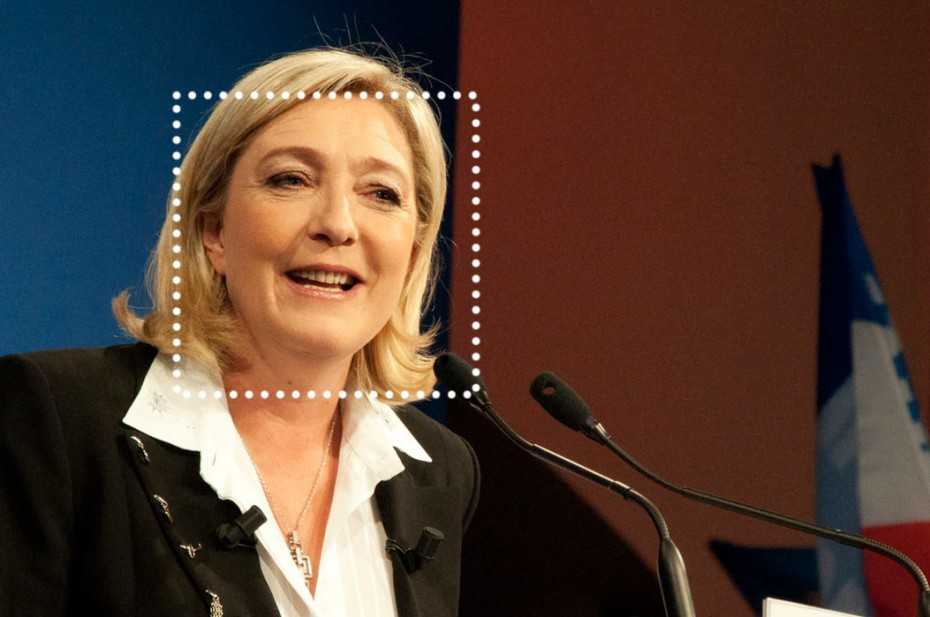 Marine Le Pen, Foto: CC BY-SA 2.0 by Global Panorama; flic.kr/p/mYrZqQ