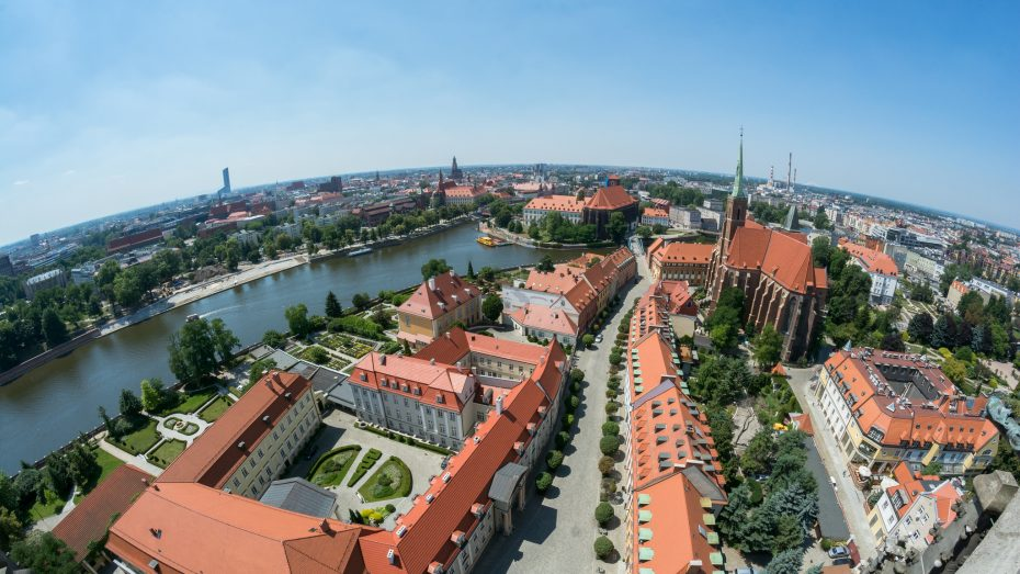 Wroclaw from the sky