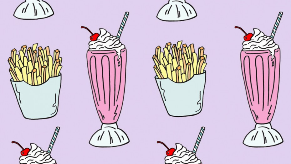 Fries Milkshake