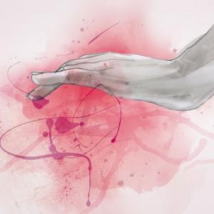 die Berührerin, Illustration: Anna Franke