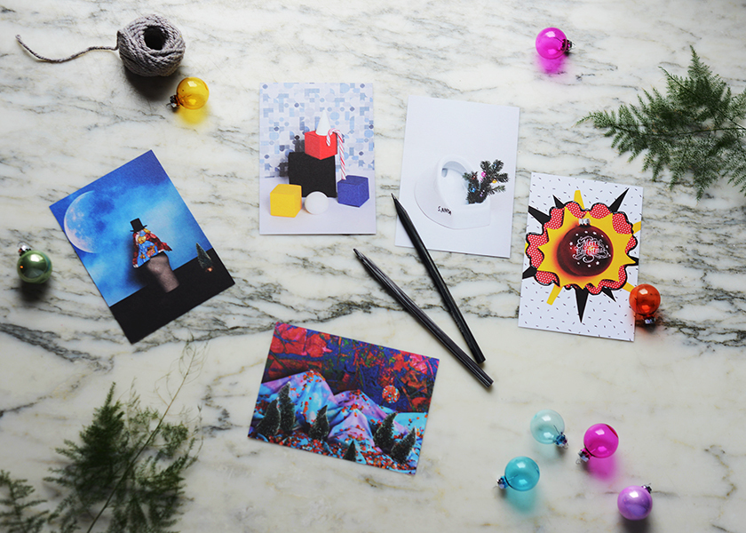 X-Mas Postcards - Tabea Mathern