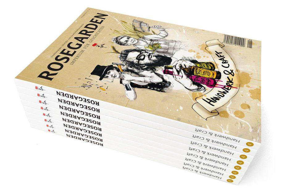 Rosegarden Magazin Handwerk und Craft