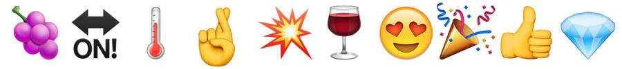 Juwel Wein emoji 8